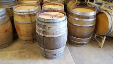 authentic Used Wine Barrel from Napa Valley solid oak Free Shipping Look