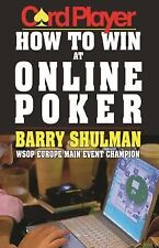 How to Win at Online Poker by Barry Shulman (2014, Paperback)