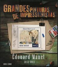 GUINEA BISSAU  2016 GREAT IMPRESSIONIST PAINTERS EDOUARD MANET  S/ SHEET MINT NH