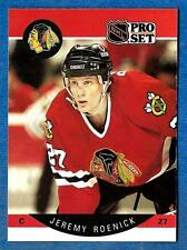 1990-91 Pro Set JEREMY ROENICK (ex-mt) Chicago Black Hawks Rookie