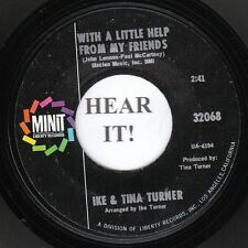Ike & Tina Turner NORTHERN 45 (Minit 32068) With a Little Help From My Friends