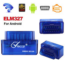 Mini OBD2 OBDII V2.1 ELM327 Bluetooth Auto Car Scanner Tester Diagnostic Tool