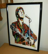 Paul McCartney, The Beatles, Bass Player, Yesterday, Singer, 18x24 POSTER w/COA