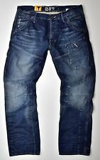 G-STAR RAW-Skiff 5620 3D Tapered Herren Jeans Medium Aged-W30 L32 Neu !!