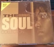 THE SERIOUS SOUL COLLECTION 3 CD SET BRAND NEW 59 SONGS Sam & Dave & Various