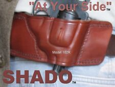 S&W J Frame Leather Holster SHADO 102R RH Revolver Smith & Wesson