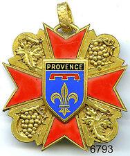 6793 - MEDAILLE CONFRERIE DES VIGNERONS DE LA PROVENCE