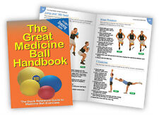 The Great Medicine Ball Workout Handbook - Book - Chart - Exercise Guide - Med