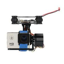 CNC FPV BGC 2 Axis Brushless Gimbal w/ Controller for GoPro 3 Camera DJI Black