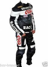 Honda CBR Motorcycle Leather Motorbike Suit Biker Cowhide Leather Racing Suit
