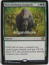 Magic Commander 2014 - 1x  Overwhelming Stampede