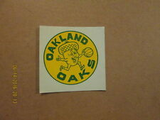 ABA Oakland Oaks Vintage Defunct 1969 Logo Water Decal