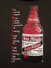 VINTAGE SAN MIGUEL PALE PILSEN PHILIPPINES BEER T SHIRT SMALL