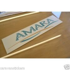 COACHMAN Amara - (STYLE 5) - Caravan Name Sticker Decal Graphic - SINGLE
