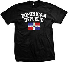 Dominican Republic DR Flag Colors Nationality Pride -Mens T-shirt