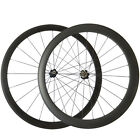 700C 23mm Width Road Bike Wheelset 38+50mm Depth Clincher Bicycle Carbon Wheels