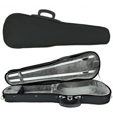 SSC Shaped Violin Case for 1/4 Quarter Size Violin Black