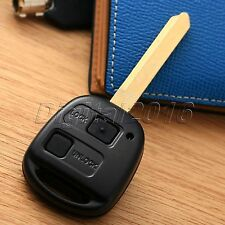 2BTN Remote Key Fob Case Shell Repair Kit For Toyota Yaris Core Hatchback 4-Door
