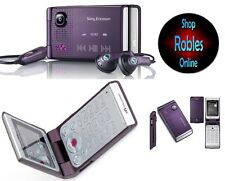 Sony Ericsson W380i Electric Purple (Ohne Simlock) 3BAND WALKMAN RADIO TOP OVP