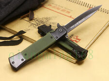 SOG Assisted Opening Folding Black Blade Pocket Knife Camping Fishing New k84