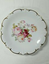 "SCHUMANN ARZBERG GERMANY PLATE - ""ANTIQUE ROSE"" - 12"""