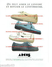 PUBLICITE ADVERTISING 125  1996  ARCUS  chaussures mocassins