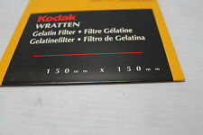 "Kodak 170 7421 Wratten Filter 150MM 6"" SQ Gel Filter CC05C Color Comp New"