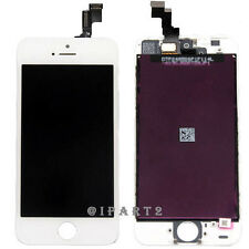 LCD Display Screen Touch Digitizer Glass Assembly for Apple iPhone 5S (White)