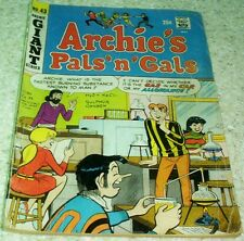 Archie's Pals 'n' Gals 43, VG+ (4.5) 1967, 50% off Guide!