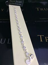 Luxurious Ladies Tennis Bracelet With Swarovski Crystal Elements - Gift Packaged