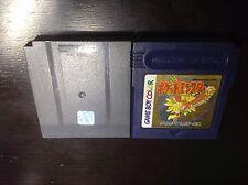 Pokemon Gold Pocket Monsters (New Battery) Japanese GBC **USA SELLER**