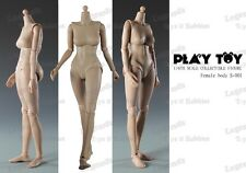 *Brand New* Play Toy 1:6 Female Small Breast Nude Body Action Figure *US Seller*