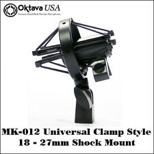 Oktava MK-012 Universal Clamp Style Shock Mount - Fits all Mics 18 - 27mm - New!
