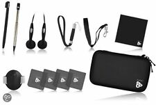 Playfect Nintendo Classic Pack -Black Edition - DS/DSi/DS Lite/3DS -12 Accesorio