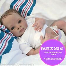 REBORN KIT ~ Soft Vinyl doll kit to make your own baby~ Dumplin unpainted vinyl