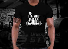 T-shirt Training To Beat Goku Or At Least Krillin Insaiyan Crossfit Dragon Ball