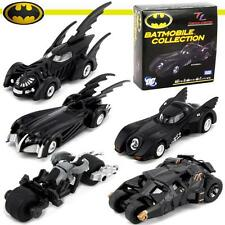 """5pcs Set DC Tomica Limited TC Batmobile Collectible cars 7cm/2.8"""" New in Box"""