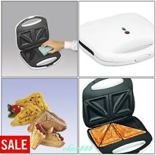 Sandwich Toaster Makers Cheese Non-stick Grids Compact Stovetop Coffee Breakfast