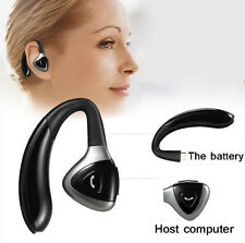 BLACK Stereo Wireless Bluetooth HeadSet Handsfree Earphone For iPhone Samsung LG