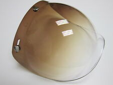 Bubble Face Shilde Color Moto Vespa Vintage Helmet Scooter NEW