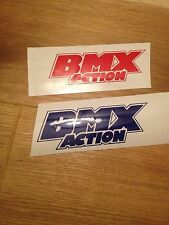 Old School Bmx Action Stickers