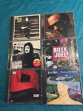 Lot of 7 CDs Billy Joel  AN INNOCENT MAN STORM FRONT GREATEST HITS STORM FRONT