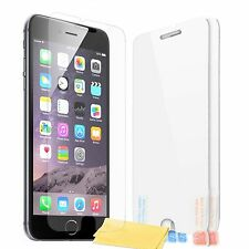 3 x NEW TRANSPARENT CLEAR FILM SCREEN PROTECTOR & CLOTH FOR APPLE IPHONE 7 PLUS