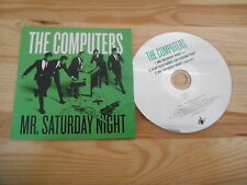 CD Indie Computers - Mr.Saturday Night (3 Song) Promo ONE LITTLE INDIAN