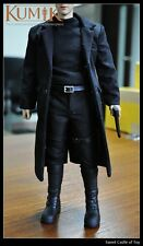 1/6 Kumik Action Figure - The Matrix Neo Keanu Reeves Outfit-4 Uniform Set