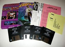 Les Manley Lost in L.A. LA Vintage PC game w/ Manual