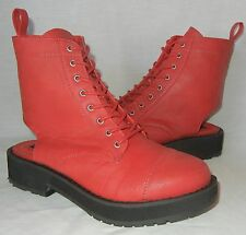 Urban Outfitters Deena & Ozzy Women's Lace Up Cap Toe Boots size 9