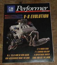 GM esecutore MAGAZINE EDIZIONE Inverno 1996 GM Performence parti Club