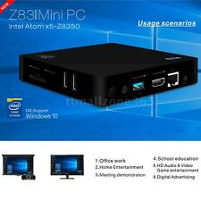 Beelink Z83II Windows 10 Mini PC 4K Smart TV Box Intel z8350 Bluetooth WiFi S8I0