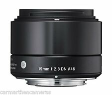 Sigma EX 19mm F/2.8 Lens For Olympus/Panasonic - Black